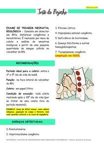 TESTE DO PEZINHO (Exames de triagem neonatal - parte 2)