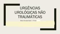urgencias urológicas não traumáticas