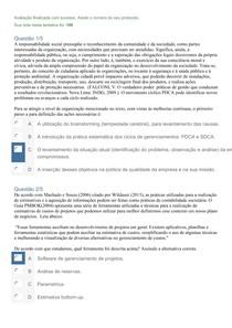 APOL 03 PLANO DE NEGÓCIOS 100 Rob