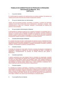 Trabalho AV2 Capitulo VI pdf