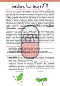 Genética e Resistência à ATM   Agressão e Defesa em Medicina Veterinária I