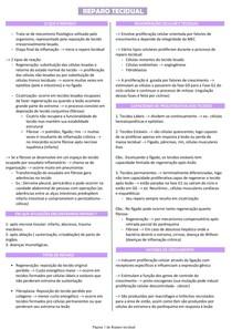 Reparo tecidual - Patologia