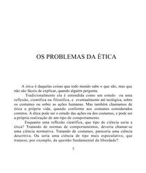 O Que e Etica Texto 1