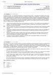 Questões da Avaliação - Aula 03 - A restauração econômica Internacional e a Pax americana.