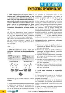 2ª-Lei-de-Mendel-Exercícios-Aprofundados