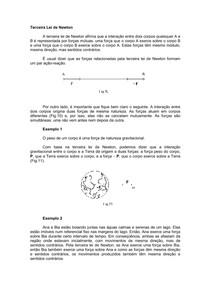 3ª Lei de Newton