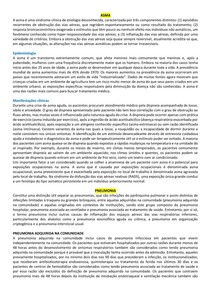 Diagnósticos diferencias da tuberculose, tratamento tuberculose, antivirais- Tutoria abertura
