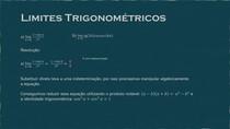 Limites trigonométricos (exercício)