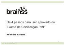 4 Passos para ser aprovado no Exame de Certificação PMP - Andriele Ribeiro