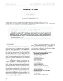 abdomen agudo fmrp-usp
