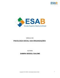 psicologia social nas organizações