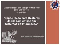 Especialização em design instrucional