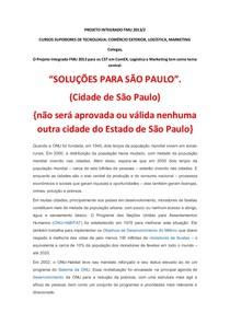 PROJETO INTEGRADO FMU 2013_resumoProfs
