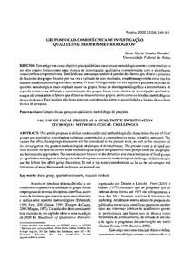 GONDIM   Grupos focais como t cnica de investiga  o qualitativa (1)