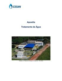 APOSTILA DE TRATAMENTO DE AGUA