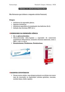 Fármacos Imunossupressores