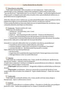 Semiologia - Dermatites