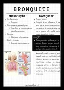 RESUMO - BRONQUITE