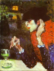 Edouard Manet - The-Absinthe-Drinker