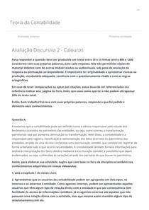 01 CCO 4 0001_100_ Avaliação Discursiva 2 - Calouros marcela