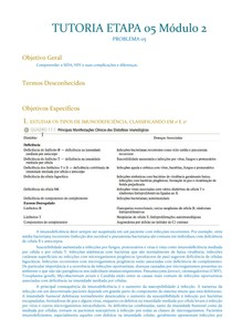 TUTORIA ETAPA 05 Módulo II   Problema 05   HIV SIDA