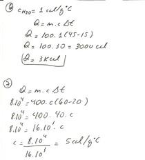Resolução exercício de Termodinâmica 2