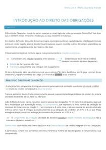 Direito das obrigações - Introdução
