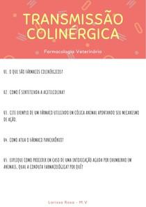 Trans Colinergica - Exercicio