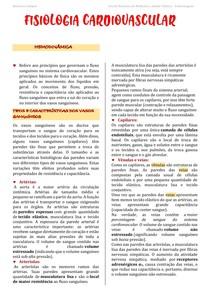 Hemodinâmica - Fisiopatologia