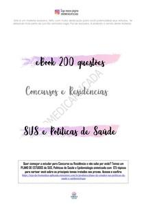 200 QUESTOES DO SUS