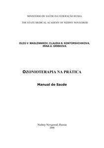 MANUAL OZONIOTERAPIA TRADUZIDO- MINISTÉRIO DA SAÚDE RUSSIA