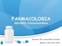 Revisão - Farmacocinética