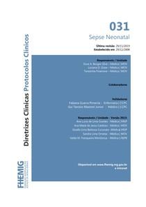 031 - Sepse neonatal