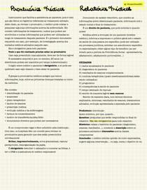 Prontuários e Relatórios Médicos