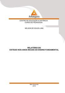 Relatório Estágio - Ensino Fundamental (1º e 2º anos) - 100 horas