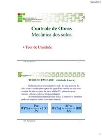 aula 04 - Teor de umidade