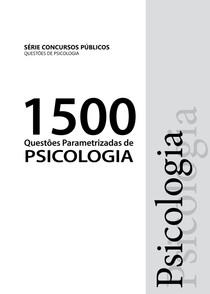 1500 QUESTÕES PSICOLOGIA 1