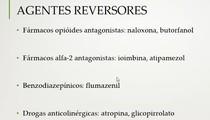 fármacos reversores