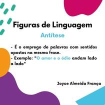 Figuras de Linguagem - Antitese