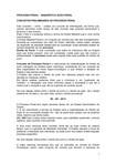 PROCESSO PENAL-INQU+ëRITO E A+ç+âO PENAL