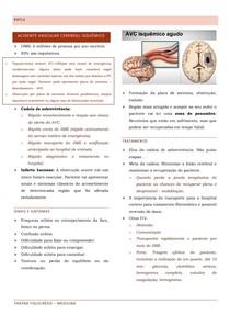 Acidente Vascular Cerebral isquêmico- PHTLS