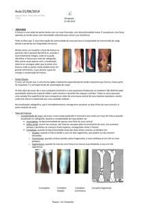 Ortopedia - Resumo Completo