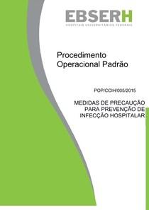 MEDIDAS DE PRECAUÇÃO PARA PREVENÇÃO DE INFECÇÃO HOSPITALAR