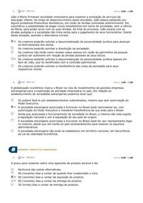 AV DIREITO EMPRESARIAL E DO CONSUMIDOR