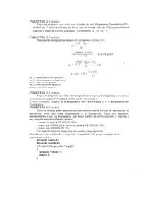 AV1 Lógica de Programação