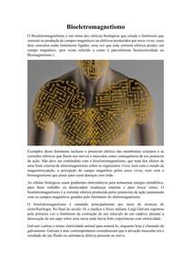 Bioeletromagnetismo