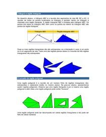 Triângulo e região triangular