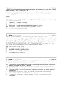 AV2 INOVAÇÃO TECNOLOGICA 2014.1ESTACIO