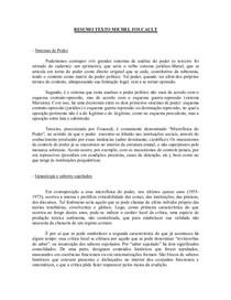 RESUMO+TEXTO+MICHEL+FOUCAULT
