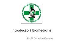 Aula 1 - Introdução a biomedicina
